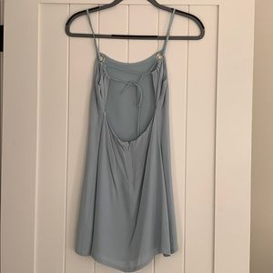 Urban Outfitters Dresses - Urban Outfitters Light Blue Slip Mini Dress